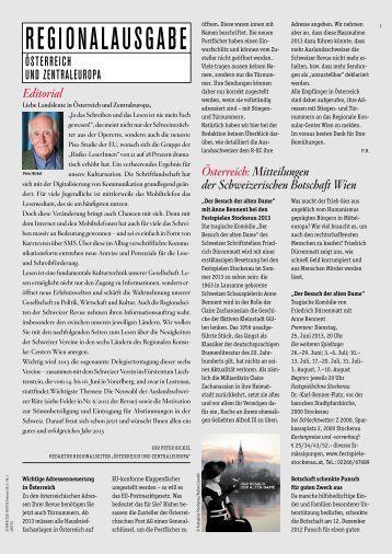 Download PDF 1/13 - Schweizer Revue