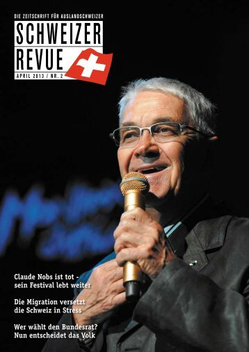 Download PDF Schweizer Revue 2/2013 Low Resolution