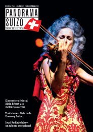 Download PDF Panorama Suizo 1/2012 - Schweizer Revue