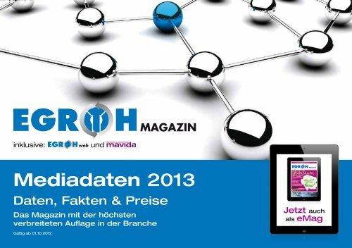 Mediadaten 2013 - AVR Agentur für Werbung und Produktion