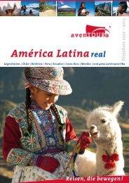 Preisliste Lateinamerika 2012 - avenTOURa