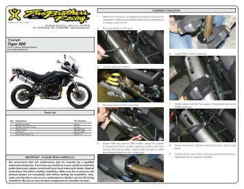 Installation Instructions - MotorcycleGear.com