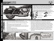 Instruction Sheet - Vance & Hines