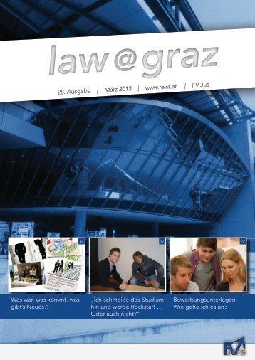 law@graz - rewi.at | FV Jus | UniGraz