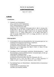 Schriftenverzeichnis als PDF-Dokument.