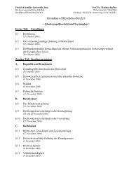 Grundkurs Öffentliches Recht I - Rechtswissenschaftliche Fakultät ...