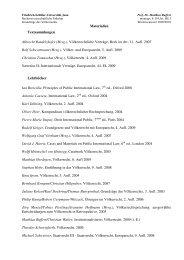 Völkerrechtliche Verträge, Beck im dtv, 11. Aufl. 2007 Rolf Schwartm