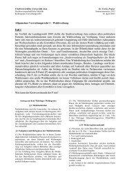 Fall 1 - Rechtswissenschaftliche Fakultät - Friedrich-Schiller ...