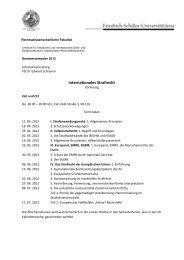 Terminplan u. weitere Informationen Internationales Strafrecht SS ...
