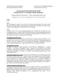 Fälle - Rechtswissenschaftliche Fakultät - Friedrich-Schiller ...