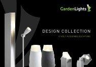 garden lights Design collection - LED zahrada