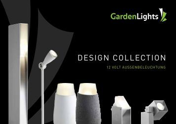 garden lights Design collection - LED zahrada