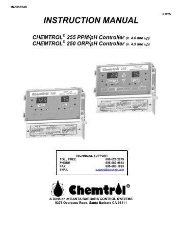 chemtrol 250 chemtrol 250 lincoln aquatics rh yumpu com chemtrol 250 manual pdf Chemtrol 250 How Much
