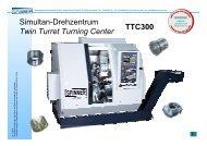 Simultan-Drehzentrum Twin Turret Turning ... - Litz Hitech Corp.