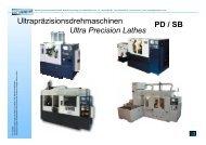 Ultrapräzisionsdrehmaschinen Ultra Precision ... - Litz Hitech Corp.