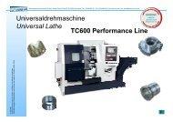 Universaldrehmaschine Universal Lathe TC600 ... - Litz Hitech Corp.