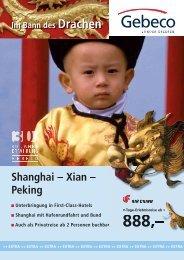 Shanghai – Xian – Peking