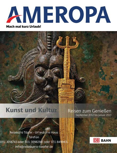 Kunst und Kultur - Reisebüro Töpfer