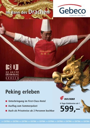 Peking erleben