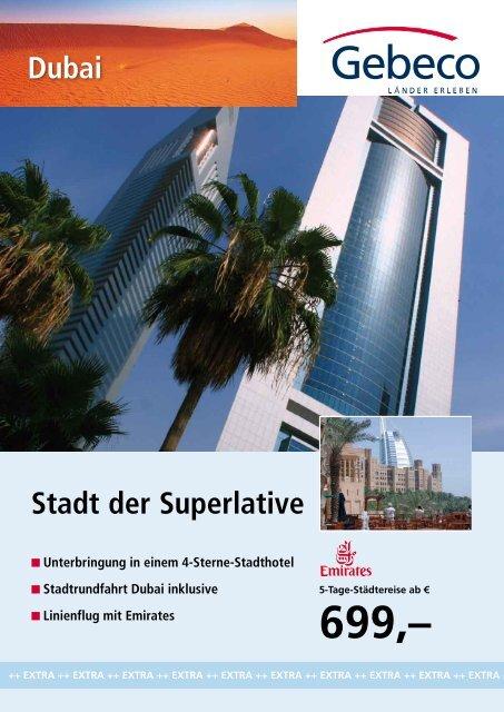 Stadt der Superlative Dubai