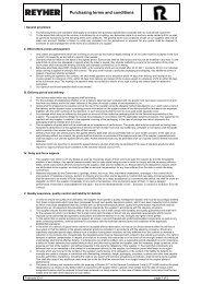 Einkaufsbedingungen Stand Februar 2011 Englisch - REYHER