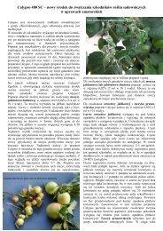 Calypso 480 SC – nowy środek do zwalczania ... - Bayer CropScience