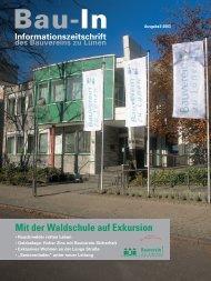 Bau-In Ausgabe 2/2003 - Bauverein zu Lünen