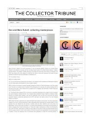 Don and Mera Rubell: collecting masterpieces   The Collector Tribune