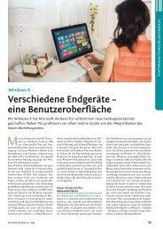 Windows 8 - rfe und eh