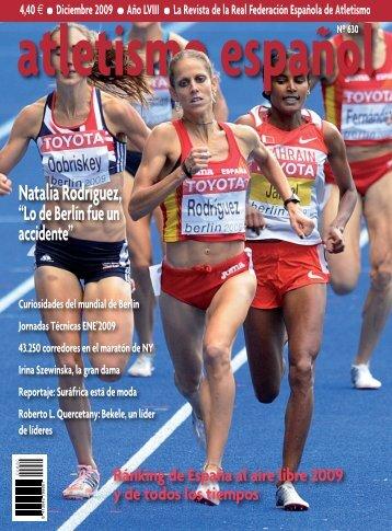 portada Diciembre 2009:portada Julio 06 - RFEA.es