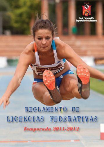 Descargar Reglamento Licencias - RFEA