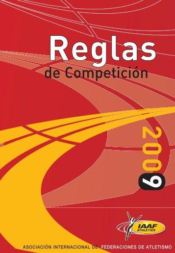 Reglas de competición - RFEA