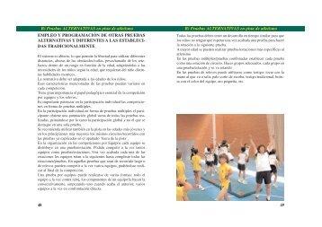 49 48 B) Pruebas ALTERNATIVAS en pista de atletismo B ... - RFEA