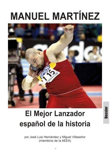 Manuel Martínez (una vida dedicada al peso) Todo su ... - RFEA