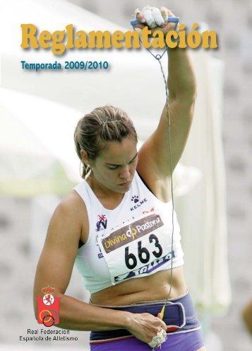 Portada Reglamentcio n 2009:Portada competiciones 1 ... - RFEA.es
