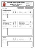 Informe final de competición - Pista cubierta - RFEA - Page 2