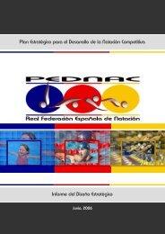 Plan Estratégico para el Desarrollo de la Natación Competitiva ...
