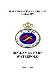 reglamento de waterpolo - Real Federación Española de Natación