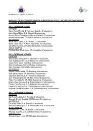 Al finalizar la Temporada 2005-2006 - Real Federación Española ...