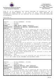 Acta 36 - 31 Enero 2012 - Real Federación Española de Natación