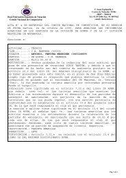 Acta 4 - 24 octubre 2006 - Real Federación Española de Natación