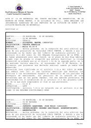 Acta 10 - 8 Noviembre 2011 - Real Federación Española de Natación