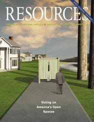 Resources: Winter 2006; Issue 160 - Resources for the Future