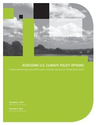 assessing us climate policy options - Resources for the Future