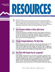 Resources Issue No.142, Winter 2001 - Resources for the Future