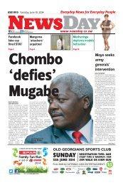 Newsday 10 June 2014