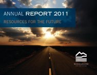 Resources for the Future Annual Report 2011