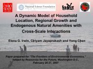A Dynamic Model of Household Location, Regional Growth and ...