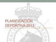Proyecto deportivo Raid 2013