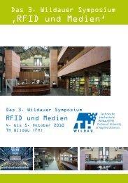 'RFID und Medien' - Technische Hochschule Wildau
